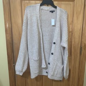 American eagle button down cardigan size L